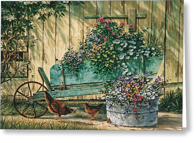 Quiet Greeting Cards - Spring Social Greeting Card by Michael Humphries