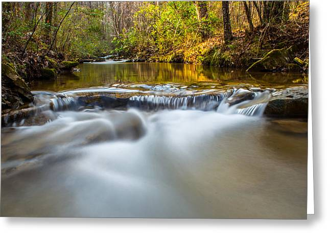 Exposure Greeting Cards - Spring Stream Greeting Card by Parker Cunningham