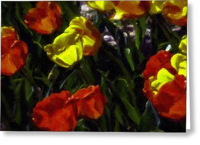 Spring Sunshine Greeting Card by F Leblanc