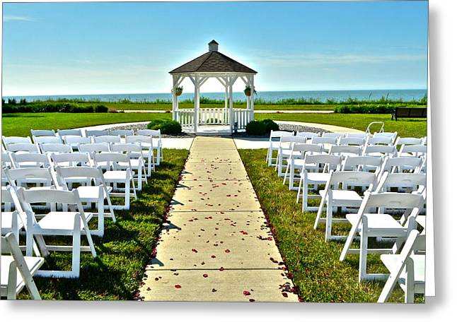 Tuxedo Greeting Cards - Spring Wedding Greeting Card by Frozen in Time Fine Art Photography