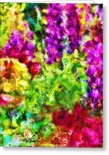 Beauty Mark Digital Greeting Cards - Springs Embrace Greeting Card by Jo-Anne Gazo-McKim