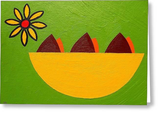 Tablets Greeting Cards - Springtime Birds Nest Greeting Card by Patrick J Murphy