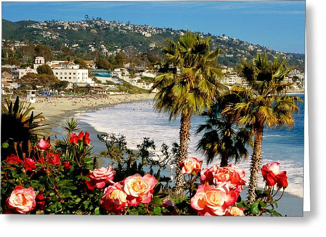 Artists Colony Greeting Cards - Springtime in Laguna Greeting Card by Cliff Wassmann