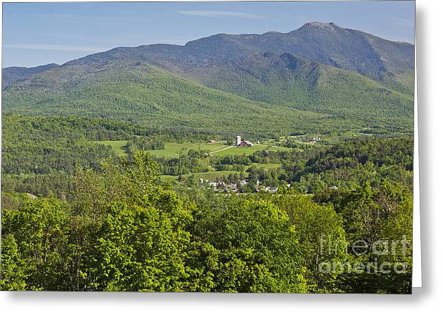 New England Village Greeting Cards - Springtime In Vermont Greeting Card by Alan L Graham