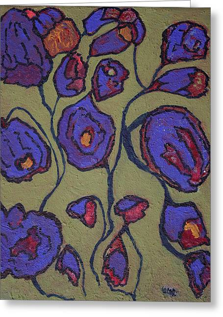 Interior Still Life Paintings Greeting Cards - Springtime  Greeting Card by Oscar Penalber