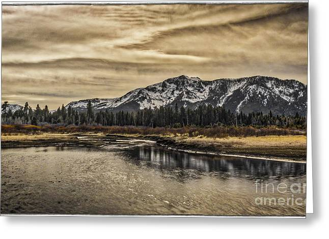 Willow Lake Greeting Cards - Sprit Of The Mountain Greeting Card by Mitch Shindelbower
