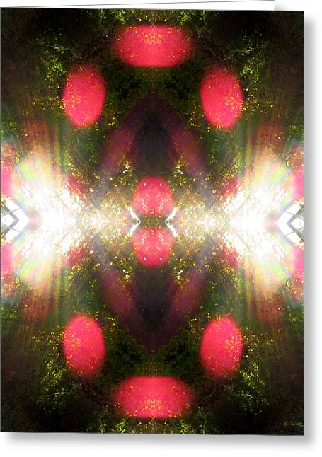 Pearly Gates Greeting Cards - Spritual Gateway Greeting Card by Shawna  Rowe