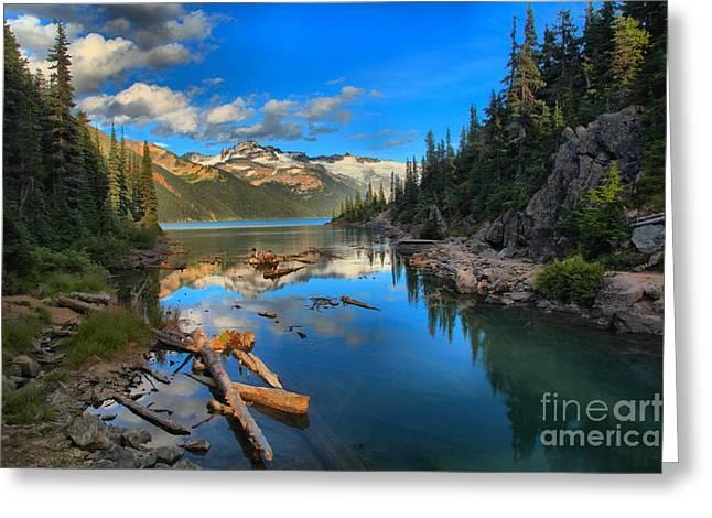 Candian Greeting Cards - Squamish Garibaldi Lake Greeting Card by Adam Jewell