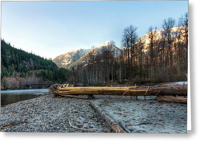 Peaceful Scenery Greeting Cards - Squamish River Greeting Card by James Wheeler
