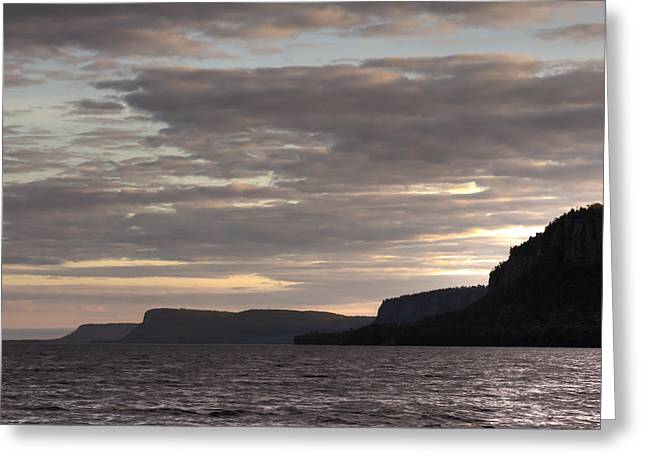 Canon 6d Greeting Cards - Squaw Bay Cliffs Greeting Card by Jakub Sisak