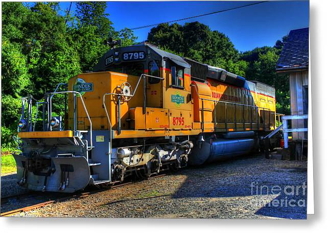 Csx Greeting Cards - Squaw Creek Southern RR Workhorse Greeting Card by Reid Callaway
