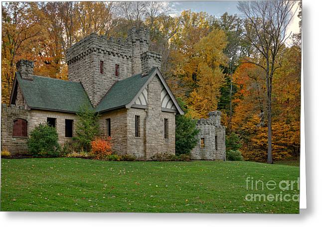 Recently Sold -  - Fall Grass Greeting Cards - Squires Castle Greeting Card by Michael Shake