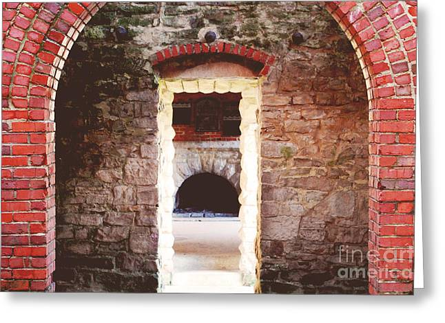 Objectivity Greeting Cards - Squires Lair  Greeting Card by Rachel Barrett