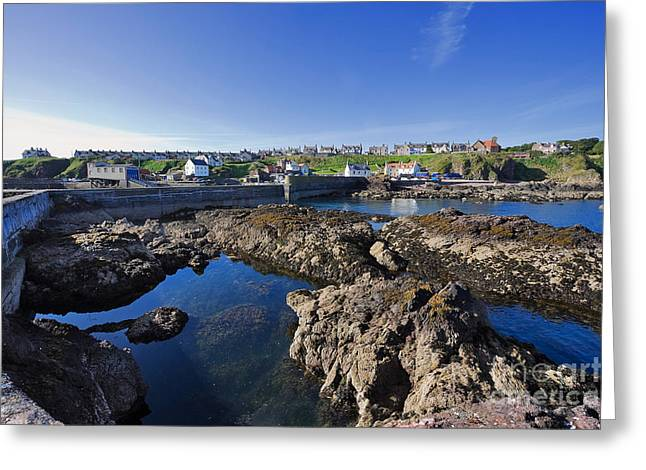 Travel Photographs Greeting Cards - St Abbs Scotland Greeting Card by Louise Heusinkveld