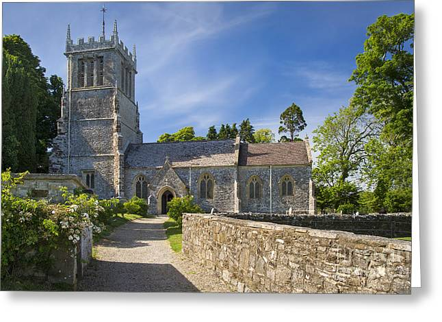 Headstones Greeting Cards - St Andrews - Lulworth Greeting Card by Brian Jannsen