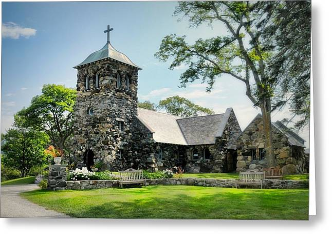 Episcopalian Greeting Cards - St. Anns Episcopal Church Greeting Card by Diana Angstadt