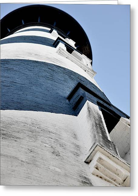 Watch Tower Greeting Cards - St Augustine Lighthouse - Angels and Ghosts Greeting Card by Christine Till