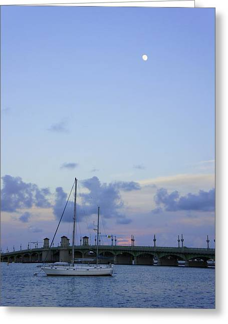 Laurie Perry Greeting Cards - St. Augustine Sunset Greeting Card by Laurie Perry