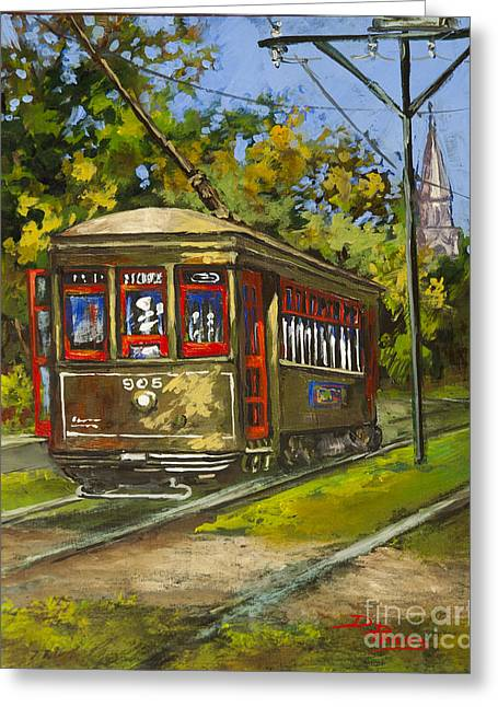 St. Charles No. 905 Greeting Card by Dianne Parks