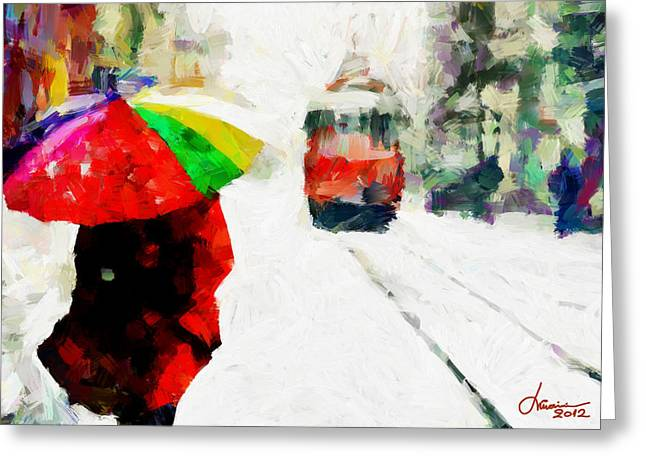 Vincent Dinovici Greeting Cards - St. Clair Street TNM Greeting Card by Vincent DiNovici