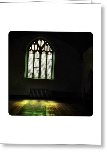 Governor Island Greeting Cards - St. Cornelius Chapel Interior Greeting Card by Natasha Marco