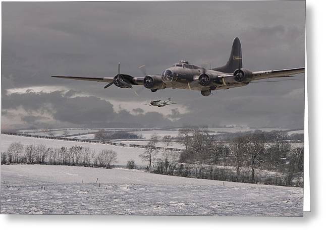 Aircraft Greeting Cards - St Crispins Day Greeting Card by Pat Speirs