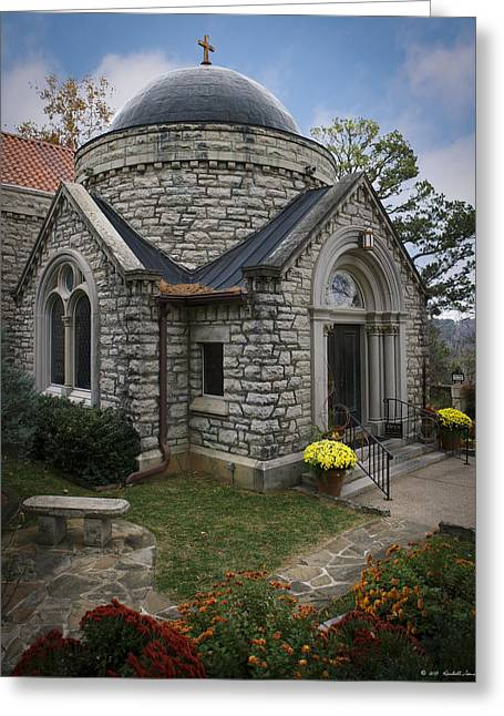St Elizabeth Greeting Cards - St. Elizabeth of Hungary Church Greeting Card by Kendall James