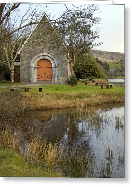 Gougane Barra Church Greeting Cards - St. Finbarrs Oratory Greeting Card by Thomas Glover