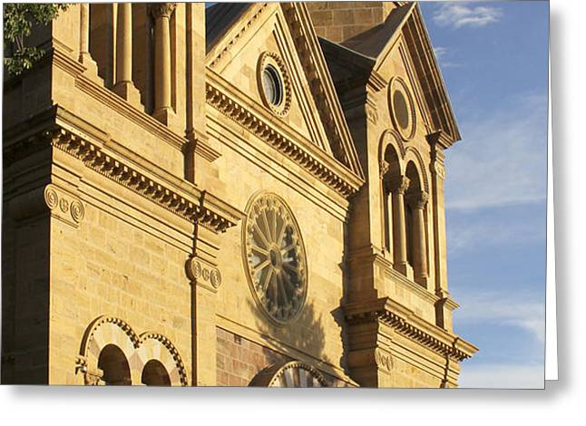 St. Francis Cathedral - Santa Fe Greeting Card by Mike McGlothlen