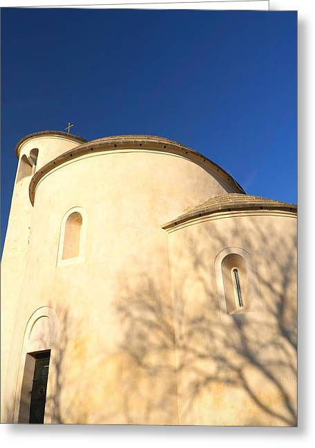 Ecclesiastics Greeting Cards - St. Georges Chapel  Greeting Card by Jaroslav Frank
