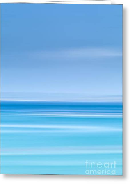 Deep Blue Sea Greeting Cards - St Ives harbour Greeting Card by John Farnan