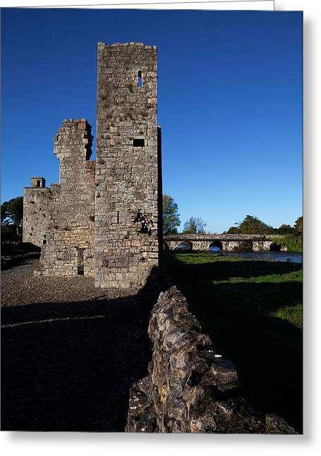 St John The Baptist Greeting Cards - St John The Baptist Ruins, Trim, County Greeting Card by Panoramic Images