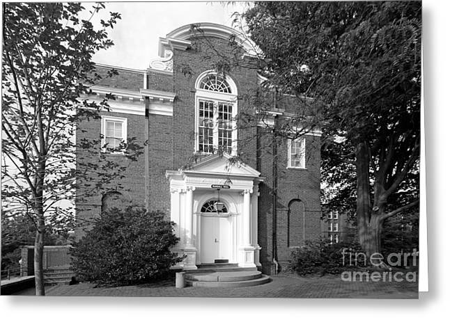 St. John's College Annapolis Randall Hall Greeting Card by University Icons