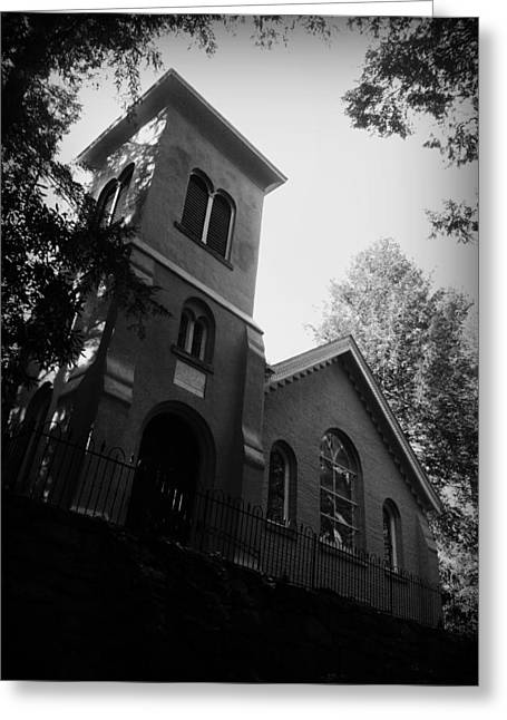 John B Kelly Greeting Cards - St Johns in the Wilderness Flat Rock NC Greeting Card by Kelly Hazel