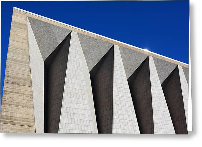 Moran Greeting Cards - St Johns University Collegeville MN Architecture  Greeting Card by Wayne Moran