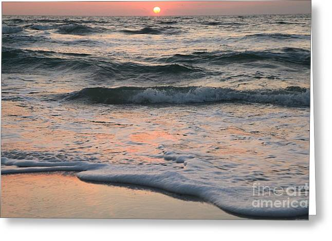 Pristine Beaches Greeting Cards - St Joseph Pastels Greeting Card by Adam Jewell