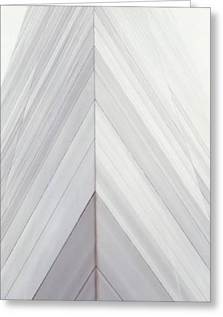 Stainless Steel Greeting Cards - St Louis Arch St Louis Mo Greeting Card by Panoramic Images