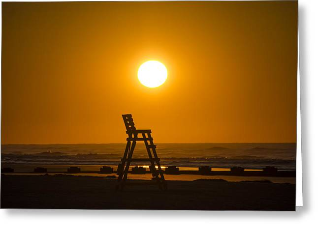 Surf Life Greeting Cards - St Louis Beach - Wildwood Crest Greeting Card by Bill Cannon
