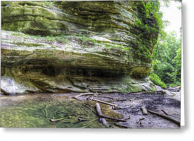 Starved Rock Park Greeting Cards - St. Louis Canyon at Starved Rock Greeting Card by Twenty Two North Photography