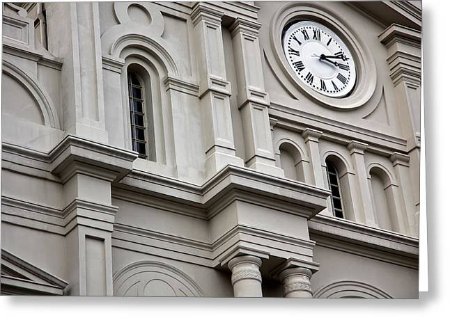 Crescent City Greeting Cards - St. Louis Cathedral 11 Greeting Card by Chris Moore