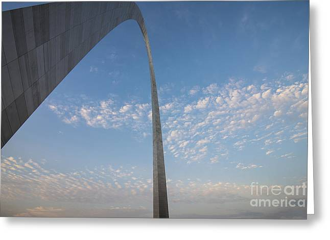 Stan Musial Greeting Cards - St. Louis Missouri Gateway Arch 8935 Greeting Card by David Haskett
