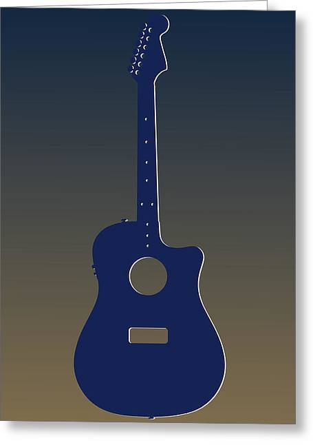 Concert Bands Photographs Greeting Cards - St Louis Rams Guitar Greeting Card by Joe Hamilton
