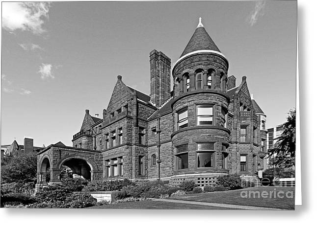 St. Louis University Samuel Cupples House Greeting Card by University Icons