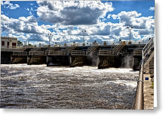 St Lucie Lock and Dam 2 Greeting Card by Dan Dennison