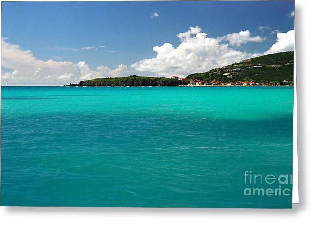 St. Martins Greeting Cards - St. Maarten Caribbean Paradise Greeting Card by Michelle Wiarda