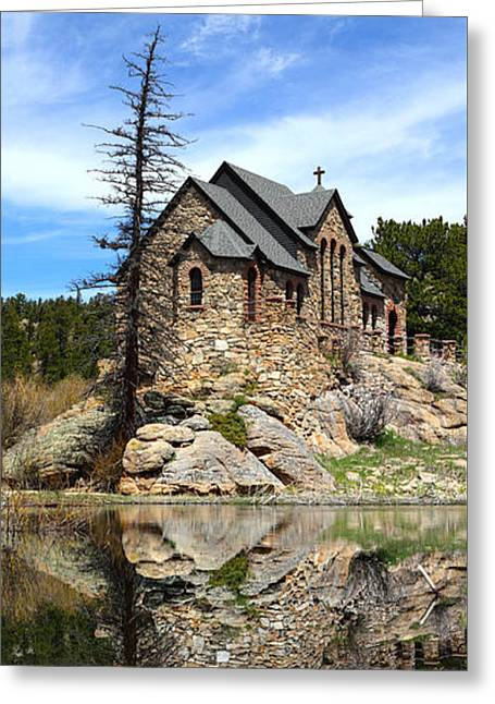 Chapel On The Rock Photographs Greeting Cards - St. Malo Church Greeting Card by Shane Bechler