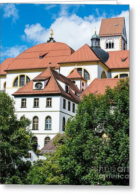 Kloster Greeting Cards - St. Mangs Abbey - Fussen - Germany Greeting Card by Gary Whitton