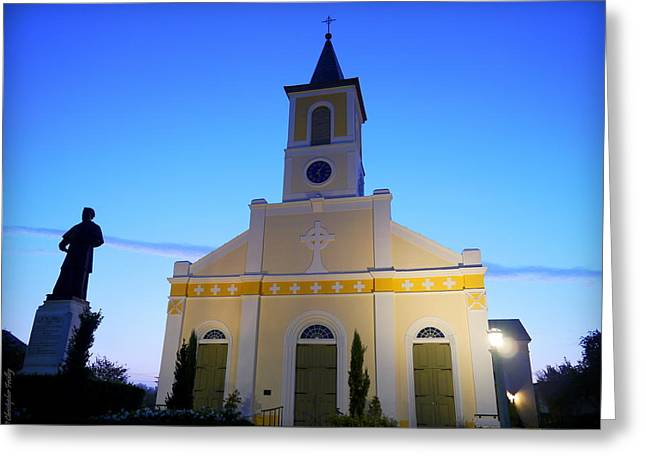 Martinville Greeting Cards - St Martin de Tours Greeting Card by Christopher Fridley