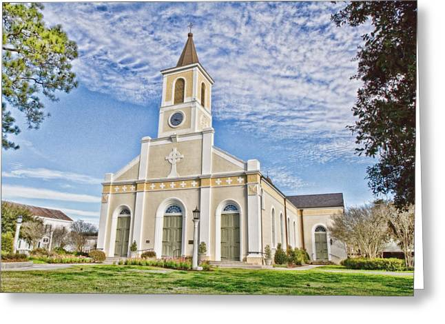 Martinville Greeting Cards - St. Martin de Tours Greeting Card by Scott Pellegrin
