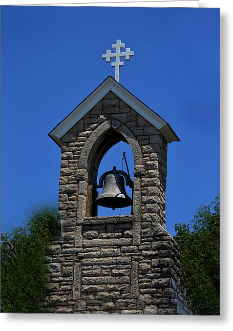St Mary Magdalene Photographs Greeting Cards - St Mary Magdalene Church Fayetteville Tennessee Greeting Card by Lesa Fine